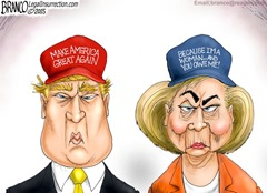 Branco-Trump-and-Hillary
